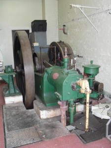 Photo of Crossley gas engine
